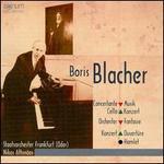 Boris Blacher: Concertante Musik; Cello Konzert; Orchester Fantaisie