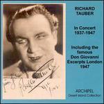 Richard Tauber: In Concert, 1937-1947