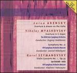 Anton Arensky: Overture A dream on the Volga; Nikolay Myaskovsky: Overture in C major; Symphony No. 21