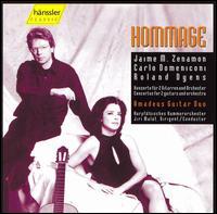 Hommage - Amadeus Guitar Duo; Kurpfalz Chamber Orchestra, Mannheim; Jiri Mal�t (conductor)