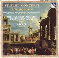 "Vivaldi: Concerti ""L'Amoroso"" - David Reichenberg (oboe); English Consort; Jaap ter Linden (cello); Lisa Beznosiuk (flute); Micaela Comberti (violin); Milan Turkovic (bassoon); Nigel North (lute); Roy Goodman (viola d'amore); Simon Standage (violin); Trevor Pinnock (organ)"