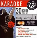 Karaoke: Country Love Songs, Vol. 1