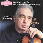 Six Sonatas for Solo Violin (Shumsky)