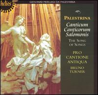 Palestrina: Canticum Canticorum Salomonis - Pro Cantione Antiqua