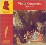 Mozart: Violin Concertos Nos. 4-5