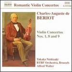 Violin Concertos Nos. 1, 8 and 9 (Walter, Rtbfo, Nishizaki)