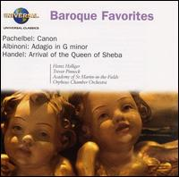 Baroque Favorites - Barry Tuckwell (horn); Heinz Holliger (oboe); Martin Haselb�ck (organ); Trevor Pinnock (harpsichord)