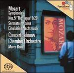 """Mozart: Symphonies Nos. 5 """"The Hague"""" & 29; Serenata notturna; Eine kleine Nachtmusik"""