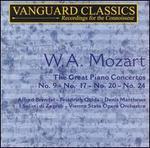 W.A. Mozart: The Great Piano Concertos
