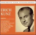 Dokumente einer SSngerkarriere: Eric Kunz