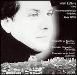 Mathieu: Concerto de Qu�bec; Addinsell: Warsaw Concerto; Gershwin: Concerto in F