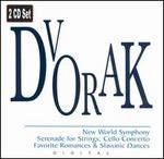 Dvorak: Serenade for Strings; Cello Concerto; Favorite Romances & Slavonic Dances
