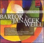 Bart�k, Jan�cek, Weill: Violin Concertos & Violin Sonatas