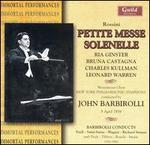 Petite Messe Solenelle & Other Rarities