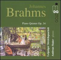 Brahms: Piano Quintet - Andreas Staier (piano); Leipziger Streichquartett