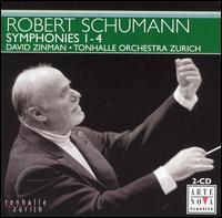 Robert Schumann: Symphonies Nos. 1-4 - Zurich Tonhalle Orchestra; David Zinman (conductor)