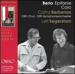 Berio: Epifanie; Coro