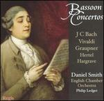 Bassoon Concertos: J.C. Bach, Vivaldi, Graupner, Hertel, Hargrave