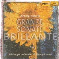 Anton Diabelli: Grande Sonate Brillante - Klaus J�ckle (guitar); Leonore von Stauss (hammerflugel); Salzburger Hofmusik; Wolfgang Brunner (hammerflugel);...