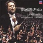 "Mendelssohn: A Midsummer Night's Dream Overture; Sinfonie-Kantate ""Lobgesang"""
