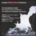 The Founding Years: Sir Thomas Beecham Conducts the London Philharmonic Orchestra