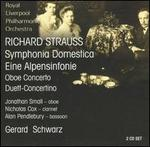 Richard Strauss: Symphonia Domestica; Eine Alpensinfonie; etc.