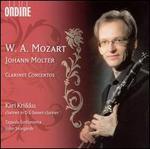Mozart & Johann Molter: Clarinet Concertos
