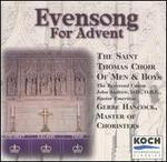 Evensong for Advent