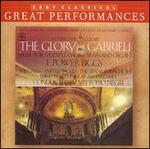 """The Glory of Gabrieli - Dale Jergenson (counter tenor); E. Power Biggs (organ); Edward Tarr Brass Ensemble; Gabrieli Consort """"La Fenice"""";..."""