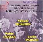 Brahms: Double Concerto; Block: Schelomo; Tchaikovsky: Rococo Variations