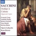 Sacchini: Oedipe a Colone