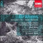 Brahms: Serenades Nos. 1 & 2; Haydn Variations