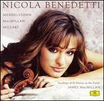 Nicola Benedetti Plays Mendelssohn, MacMillan & Mozart