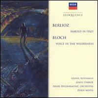 Berlioz: Harold In Italy; Bloch: Voice In The Wilderness [Australia] -