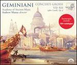 Geminiani: Concerti Grossi VII-XII (after Corelli, Op. 5)