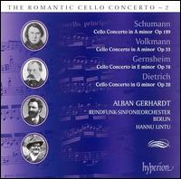 The Romantic Cello Concerto, Vol. 2 - Alban Gerhardt (cello); Berlin Radio Symphony Orchestra; Hannu Lintu (conductor)