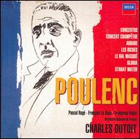 Poulenc: Concertos; Orchestral & Choral Works [Box Set] - Alessandro Carbonare (clarinet); Andre Gantiez (horn); Andr� Goudenhooft (trombone); B. Balet (percussion);...