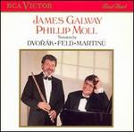 James Galway (Flute) and Philip Moll (Piano) in Dvorak Sonatina Op. 100 (Edited By Galway & Moll), Martinu Sonata No. 1, Jindrich Feld (Born in 1925) Sonata