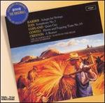 Barber: Adagio for Strings; Ives: Symphony No. 3; Copland: Quiet City; etc.
