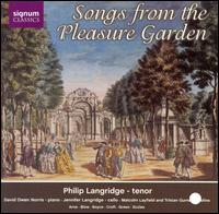 Songs from the Pleasure Garden - David Owen Norris (piano); Jennifer Langridge (cello); Malcolm Layfield (violin); Philip Langridge (tenor);...