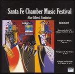 Santa Fe Chamber Music Festival Plays Mozart Serenade, Adagio's