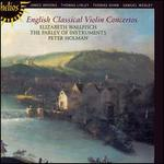 English Classical Violin Concertos