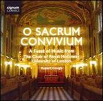 O Sacrum Convivium