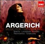 Brahms / Lutoslawski / Prokofiev / Rachmaninov / Tchaikovsky: Music for Two Pianos
