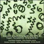 Colin Matthews: Divertimento; Oboe Quartet No. 1; Triptych; Five Concertinos; String Quartet No. 2