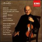 Debussy: Sonate; Faur�: Andante; Berceuse; Ravel: Trio
