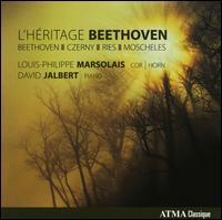 L'H�ritage Beethoven - David Jalbert (piano); Louis-Philippe Marsolais (horn)