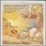 Johann Joseph Fux: Missa Corporis Christi; Motets