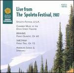 Live From the Spoleto Festival, 1987-Brahms: Piano Quartet, Op. 60 / Smetana: Piano Trio, Op. 15 / Rorem: Praise Ye the Lord (Psalm 148) / Johnson: City Called Heaven / Witness