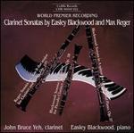 Clarinet Sonatas by Easley Blackwood and Max Reger